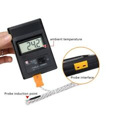 TM-902C Temperature Meter K Type LCD Digital Thermometer Thermocouple Probe 1300