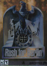 Rush for Berlin - Tactical WW2 World War 2 Strategy PC Game - US Version - NEW