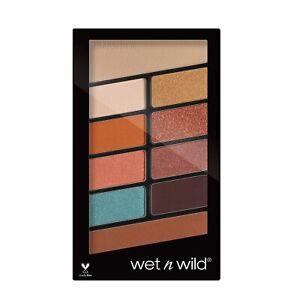 Wet N Wild Coloricon Eyeshadow 10 Pan Palette NEW SEALED~ CHOOSE Eye Palette