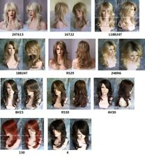 Long Choppy Layers Nirvana Tarah Wig U Choose Colour Black/Blonde/Red/Brown