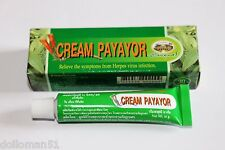 Payayor Cream 10g - Natural Effective Treatment for Herpes Virus Cold Sores