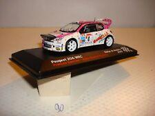 VOITURE MINIATURE (90) PEUGEOT 206 WRC Rallye de Madeira 2003 1/43