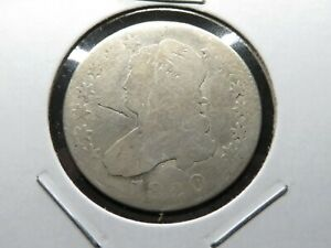 """1820-O Capped Bust 25c Large """"O"""" - SILVER"""