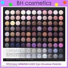 NEW in Box BH Cosmetics 99-Color URBAN LUXE Eye Shadow Palette - FREE SHIPPING