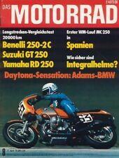 M7608 + BENELLI 250-2C vs. SUZUKI GT 250 vs. YAMAHA RD 250 + MOTORRAD 8/1976