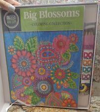 Design Originals BRAND NEW 2X Collection coloring books W/ Coloring pencils!!!