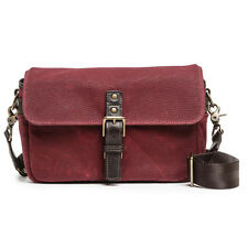 ONA The Bowery Canvas Crimson Camera Bag - Timeless Handcrafted Quality