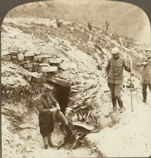More details for loading trench mortar in dugout on the serbian front. underwood stereoview #29