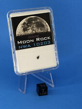 NWA 10203 Lunar Meteorite Moon Crumb in Slab by Meteorite Men Steve