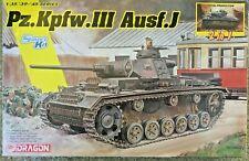 1/35 German Pz.Kpfw. III  Ausf. J ** 2-in-1 Smart Kit ** NEW Dragon DML #6954