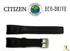 Citizen Eco-Drive BL5300-06E Original 22mm Black Rubber Watch Band Strap S061857