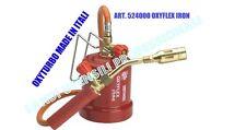 KIT SALDATORE MOBILE PROFESSIONALE  CANNELLO GAS BUTANO  ART.524000 OXYFLEX IRON