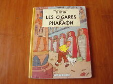 TINTIN LES CIGARES DU PHARAON  EO COULEURS FRANCAISE /  HERGE