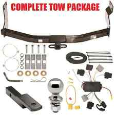05-07 FORD ESCAPE COMPLETE TRAILER HITCH RECEIVER TOW PACKAGE W/ WIRING KIT NEW