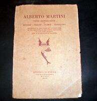 Arte Pittura Disegni - Alberto Martini - Venti Riproduzioni - 1^ ed. 1924 RARO