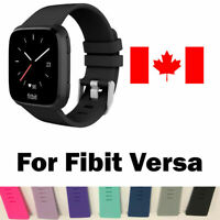 Replacement Silicone Wrist Band Strap For Fitbit Versa Band Large SMALL (5COLOR)