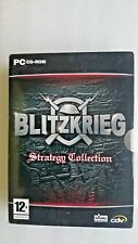 Blitzkrieg Strategy Collection Blitzkrieg and  Burning Horizon (PC Windows 2004)