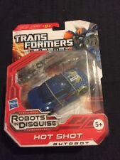 Hasbro transformer Robots in Disguise Hot Shot Auto Bot sellado de fábrica. 2012.
