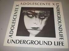 UNDERGROUND LIFE - ADOLESCENTE X - 1992 - LILIUM DISCHI - RADIUS - ONORATO