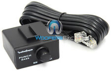 ROCKFORD FOSGATE PUNCH BASS EQ REMOTE for AMP SUBS SPEAKERS 1999-2003 AMPLIFIER