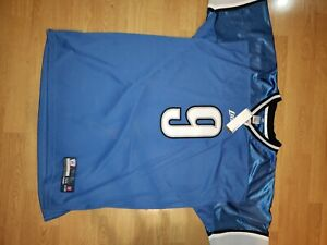 Authentic Detroit Lions blue Matt Stafford jersey in size 54. Brand new