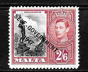 Malta .. 1948-53.. Self Government .. 2/6d Mint(MNH) .. KGV1 .. 5975