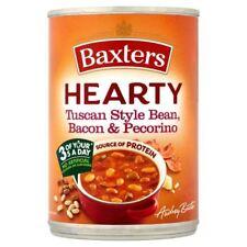 Baxters Hearty Tuscan Style Bean, Bacon & Pecorino Soup - 400g (0.88lbs)