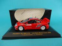 PEUGEOT 307 WRC #16 GARDEMEISTER - RALLY MONTE CARLO 2006 1/43 NEW - IXO RAM211