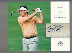 Ben Curtis 2004 Upper Deck SP Signature Golf Signed Autographed 8X10 Photo