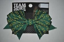 University of Oregon Ducks Officially Licensed Team Spirit Go Ducks! Hair Bow