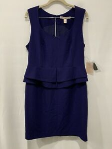 NWT Forever 21 Dress Juniors Womens Short Navy Blue Size Large