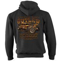 Hotrod 58 Hot Rat Rod Zip Hoody Hoodie American Classic Vintage Outlaw Garage 59