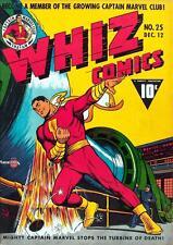 Whiz Comics #25 Photocopy Comic Book, Captain Marvel, 1st Captain Marvel Jr.