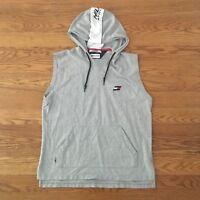 Vintage Tommy Hilfiger Athletics Hoodie Sweatshirt Men's XL Spellout Colorblock