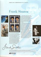 #813 42c Frank Sinatra #4265 USPS Commemorative Stamp Panel
