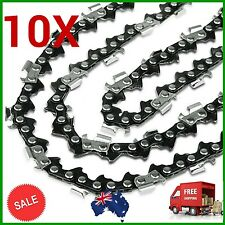 "10X CHAINSAW CHAINS SEMI CHISEL 3/8LP 050 49DL FOR Talon 38CC 14"" Bar AC3100 etc"