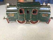 LIONEL PRE WAR # 50 LOCOMOTIVE WITH PASSENGER CARS AND OBSERVATION CAR