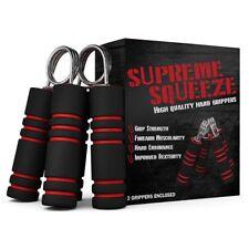 Hand Strengthener Set - 2 Hand Grips - Forearm Wrist Exerciser, 66 lb Resistance