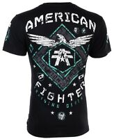 American Fighter Short Sleeve T-Shirt Mens ABRAHAM Black S-3XL $40 NWT