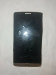 LG G3 LG-D55 for PARTS wont boot gold color 32GB