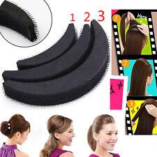 3pc Hair Volume Increase Puff Sponge Pad P Up Insert Base Diy Updo Styling Eb