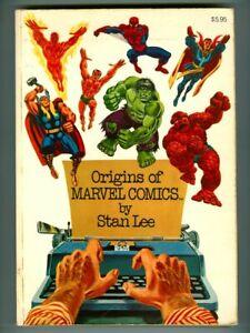 Vintage 1974 ORIGINS of MARVEL COMICS! Fantastic Four! SPIDER-MAN! Thor! HULK!