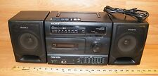 Vintage Sony (Cfs-1035) Am/Fm Radio Cassette-Corder Equalizer Boombox *Read*