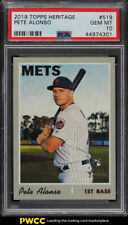 2019 Topps Heritage Pete Alonso ROOKIE RC #519 PSA 10 GEM MINT