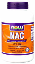 Now Foods NAC 600mg 250 Vitaminkapseln
