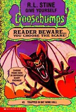 Trapped in Bat Wing Hall (Give Yourself Goosebumps #3) by R. L. Stine