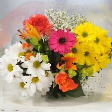 FRESH REAL Birthday Flower Delivered Mix Fresh FREE UK Next Day Delivery by Post