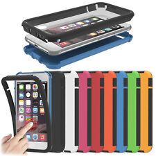Robuste Apple iPhone Schutzhülle Touchcase Flip Fullcover Hülle Schale Tasche