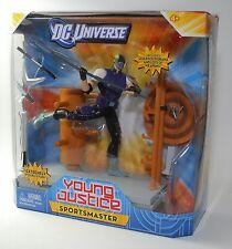"""DC Universe Young Justice SPORTSMASTER w Sculped Diorama 6"""" Poseable Figure"""