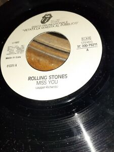 "Rolling  Stones"" miss you- walking on a friend ""promo"